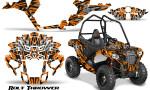 Polaris Sportsman ACE CreatorX Graphics Kit Bolt Thrower Orange 150x90 - Polaris Sportsman ACE 325 570 2014-2016 Graphics