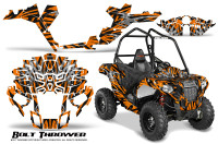 Polaris-Sportsman-ACE-CreatorX-Graphics-Kit-Bolt-Thrower-Orange