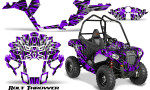 Polaris Sportsman ACE CreatorX Graphics Kit Bolt Thrower Purple 150x90 - Polaris Sportsman ACE 325 570 2014-2016 Graphics