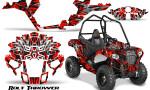 Polaris Sportsman ACE CreatorX Graphics Kit Bolt Thrower Red 150x90 - Polaris Sportsman ACE 325 570 2014-2016 Graphics