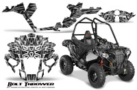 Polaris-Sportsman-ACE-CreatorX-Graphics-Kit-Bolt-Thrower-Silver