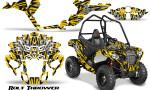 Polaris Sportsman ACE CreatorX Graphics Kit Bolt Thrower Yellow 150x90 - Polaris Sportsman ACE 325 570 2014-2016 Graphics
