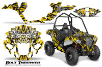 Polaris-Sportsman-ACE-CreatorX-Graphics-Kit-Bolt-Thrower-Yellow