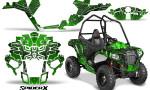Polaris Sportsman ACE CreatorX Graphics Kit SpiderX Green 150x90 - Polaris Sportsman ACE 325 570 2014-2016 Graphics