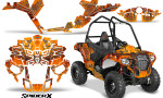 Polaris Sportsman ACE CreatorX Graphics Kit SpiderX Orange 150x90 - Polaris Sportsman ACE 325 570 2014-2016 Graphics