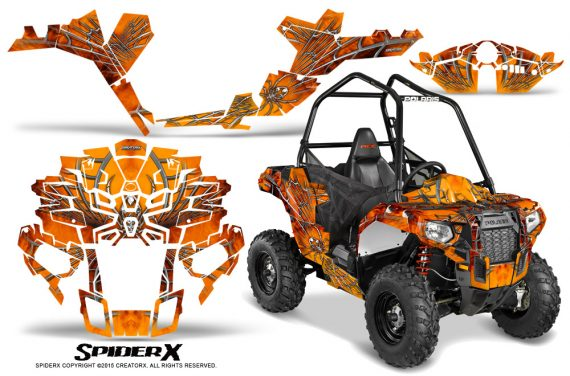 Polaris-Sportsman-ACE-CreatorX-Graphics-Kit-SpiderX-Orange