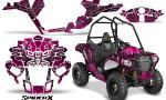 Polaris Sportsman ACE CreatorX Graphics Kit SpiderX Pink 150x90 - Polaris Sportsman ACE 325 570 2014-2016 Graphics