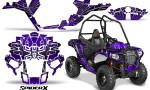 Polaris Sportsman ACE CreatorX Graphics Kit SpiderX Purple 150x90 - Polaris Sportsman ACE 325 570 2014-2016 Graphics