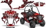 Polaris Sportsman ACE CreatorX Graphics Kit SpiderX Red 150x90 - Polaris Sportsman ACE 325 570 2014-2016 Graphics