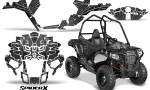 Polaris Sportsman ACE CreatorX Graphics Kit SpiderX Silver 150x90 - Polaris Sportsman ACE 325 570 2014-2016 Graphics