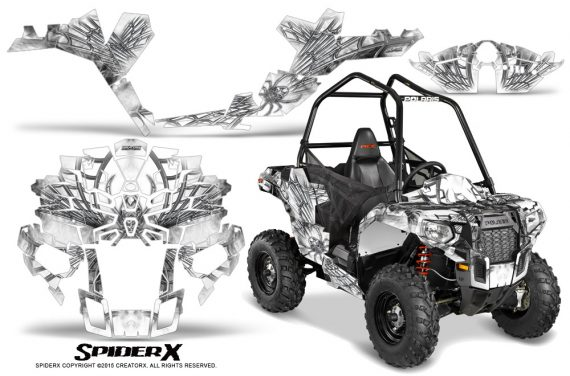 Polaris-Sportsman-ACE-CreatorX-Graphics-Kit-SpiderX-White