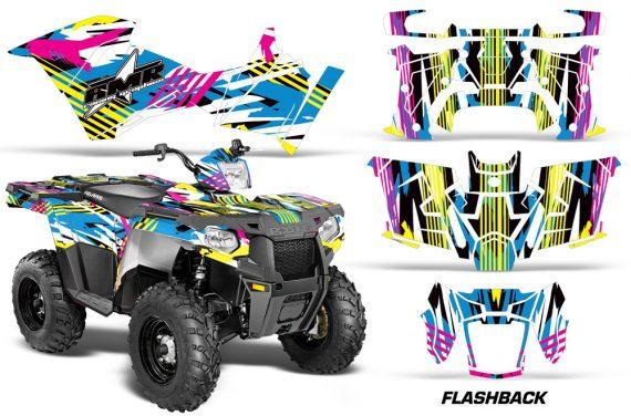 Polaris Sportsman ATV 570 14 15 Graphic Kit Decal Flashback 1420 151153 1010 570x376 - Polaris Sportsman 325ETX 450 570 2014-2017 Graphics