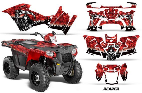 Polaris Sportsman ATV 570 14 15 Graphic Kit Decal Reaper R 1420 151103 1013 570x376 - Polaris Sportsman 325ETX 450 570 2014-2017 Graphics