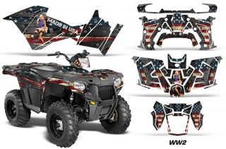Polaris Sportsman ATV 570 14 15 Graphic Kit Decal WW2 1420 151209 1010 320x211 - Polaris Sportsman 325ETX 450 570 2014-2017 Graphics