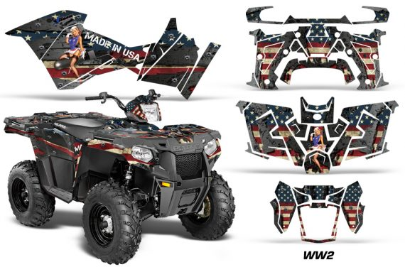 Polaris Sportsman ATV 570 14 15 Graphic Kit Decal WW2 1420 151209 1010 570x376 - Polaris Sportsman 325ETX 450 570 2014-2017 Graphics