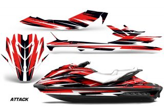 Sea Doo GTI SE 130 Graphic Kit Wrap Attack R 320x211 - Sea-Doo Bombardier GTI/GTR/GTS HD Sitdown Jet Ski 2011-2014 Graphics