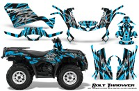 Can-Am-Outlander-400-09-15-Graphic-Kit-Bolt-Thrower-BlueIce