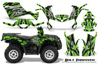 Can-Am-Outlander-400-09-15-Graphic-Kit-Bolt-Thrower-Green
