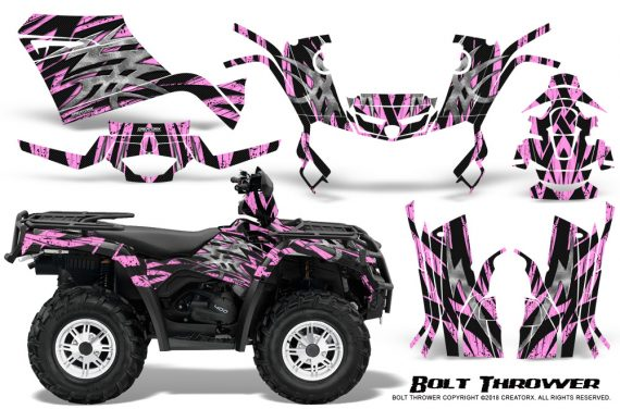 Can-Am-Outlander-400-09-15-Graphic-Kit-Bolt-Thrower-PinkLite
