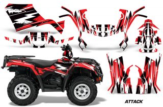 Canam Outlander 400 09 15 Graphic Kit Attack R 1422 319200 1013 320x211 - Can-Am Outlander 400 2009-2014 Graphics