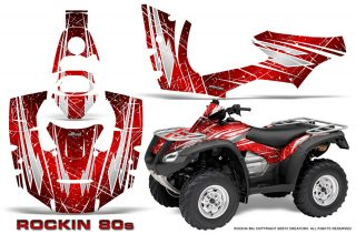 Honda Rincon 06 14 CreatorX Graphics Kit Rockin80s Red 320x211 - Honda Rincon 2006-2014 Graphics