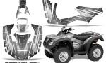 Honda Rincon 06 14 CreatorX Graphics Kit Rockin80s Silver 150x90 - Honda Rincon 2006-2018 Graphics