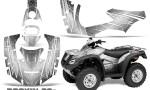 Honda Rincon 06 14 CreatorX Graphics Kit Rockin80s White 150x90 - Honda Rincon 2006-2018 Graphics