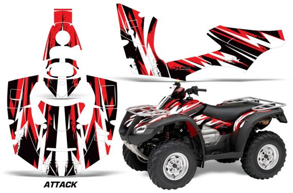Honda Rincon 06 14 Graphics Kit Wrap Attack R 1410 150 200 1310 570x376 - Honda Rincon 2006-2018 Graphics