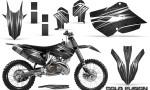 Husaberg 13 14 Husqvarna 14 15 TC FC Graphics Kit Cold Fusion Black NP Rims 150x90 - Husqvarna TC 125-250 FC 250-350-450 2014-2016 Graphics