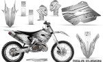 Husaberg 13 14 Husqvarna 14 15 TC FC Graphics Kit Cold Fusion White NP Rims 150x90 - Husqvarna TC 125-250 FC 250-350-450 2014-2016 Graphics