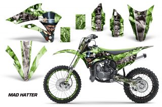 Kawasaki KX 85 100 2014 Graphic Kit Vinyl Moto Motorcross Motox Mad Hatter GS NPs 320x211 - Kawasaki KX85 KX100 2014-2018 Graphics