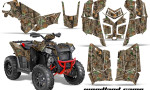 Polaris Scrambler 850 XP 13 14 AMR Graphics Kit Wrap Woodland Camo 150x90 - Polaris Scrambler 850 1000 2013-2016 Graphics