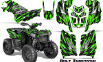 Polaris Scrambler 850 XP 2013 2014 CreatorX Graphics Kit Bolt Thrower Green 150x90 - Polaris Scrambler 850 1000 2013-2016 Graphics