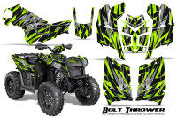 Polaris-Scrambler-850-XP-2013-2014-CreatorX-Graphics-Kit-Bolt-Thrower-GreenLime