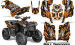 Polaris Scrambler 850 XP 2013 2014 CreatorX Graphics Kit Bolt Thrower Orange 150x90 - Polaris Scrambler 850 1000 2013-2016 Graphics