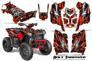 Polaris Scrambler 850 XP 2013 2014 CreatorX Graphics Kit Bolt Thrower Red 320x211 - Polaris Scrambler 850 1000 2013-2018 Graphics