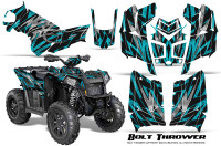 Polaris-Scrambler-850-XP-2013-2014-CreatorX-Graphics-Kit-Bolt-Thrower-Teal