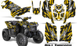 Polaris Scrambler 850 XP 2013 2014 CreatorX Graphics Kit Bolt Thrower Yellow 150x90 - Polaris Scrambler 850 1000 2013-2016 Graphics