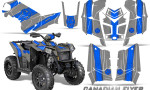 Polaris Scrambler 850 XP 2013 2014 CreatorX Graphics Kit Canadian Flyer Blue Silver 150x90 - Polaris Scrambler 850 1000 2013-2016 Graphics
