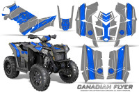 Polaris-Scrambler-850-XP-2013-2014-CreatorX-Graphics-Kit-Canadian-Flyer-Blue-Silver
