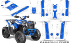 Polaris Scrambler 850 XP 2013 2014 CreatorX Graphics Kit Canadian Flyer Blue White 150x90 - Polaris Scrambler 850 1000 2013-2016 Graphics