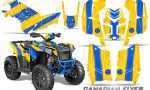 Polaris Scrambler 850 XP 2013 2014 CreatorX Graphics Kit Canadian Flyer Blue Yellow 150x90 - Polaris Scrambler 850 1000 2013-2016 Graphics