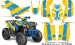 Polaris Scrambler 850 XP 2013 2014 CreatorX Graphics Kit Canadian Flyer BlueIce Yellow 150x90 - Polaris Scrambler 850 1000 2013-2016 Graphics