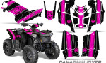 Polaris Scrambler 850 XP 2013 2014 CreatorX Graphics Kit Canadian Flyer Pink Black 150x90 - Polaris Scrambler 850 1000 2013-2016 Graphics