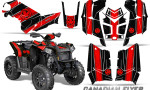 Polaris Scrambler 850 XP 2013 2014 CreatorX Graphics Kit Canadian Flyer Red Black 150x90 - Polaris Scrambler 850 1000 2013-2016 Graphics