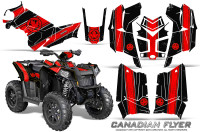 Polaris-Scrambler-850-XP-2013-2014-CreatorX-Graphics-Kit-Canadian-Flyer-Red-Black