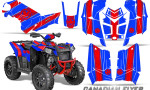 Polaris Scrambler 850 XP 2013 2014 CreatorX Graphics Kit Canadian Flyer Red Blue 150x90 - Polaris Scrambler 850 1000 2013-2016 Graphics