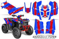 Polaris-Scrambler-850-XP-2013-2014-CreatorX-Graphics-Kit-Canadian-Flyer-Red-Blue