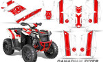 Polaris Scrambler 850 XP 2013 2014 CreatorX Graphics Kit Canadian Flyer Red White 150x90 - Polaris Scrambler 850 1000 2013-2016 Graphics