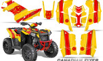 Polaris Scrambler 850 XP 2013 2014 CreatorX Graphics Kit Canadian Flyer Red Yellow 150x90 - Polaris Scrambler 850 1000 2013-2016 Graphics